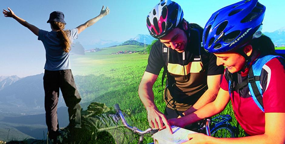pohodnistvo in kolesarjenje